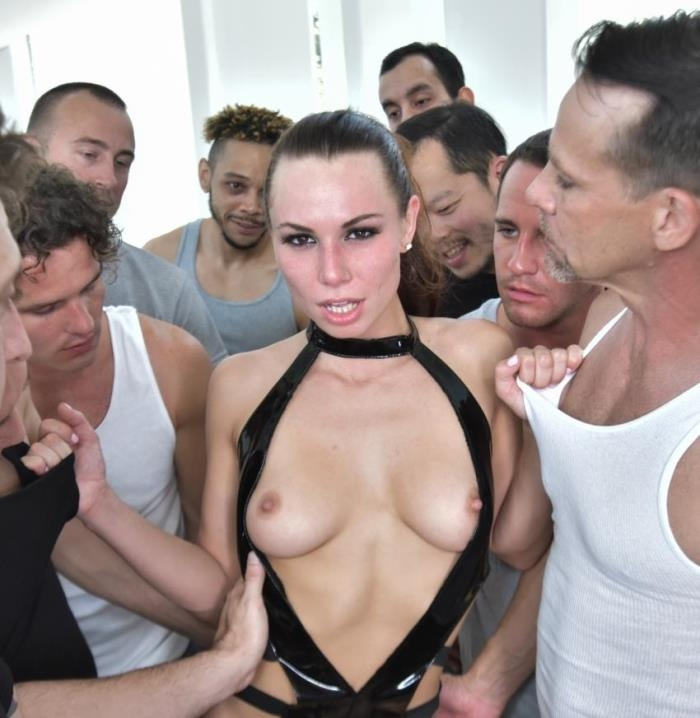 HardX: Aidra Fox - Aidras 10 Guy Blowbang  [HD 720p]  (Group)