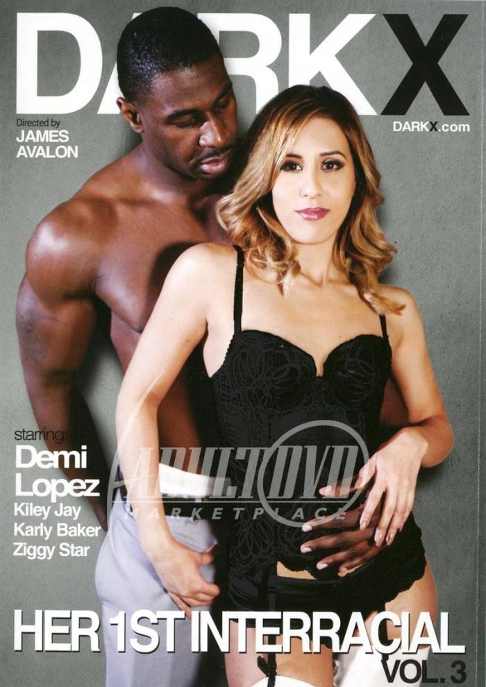 Dark X - Demi Lopez, Karly Baker, Kiley Jay, Ziggy Star [Her 1st Interracial 3] (DVDRip 404p)