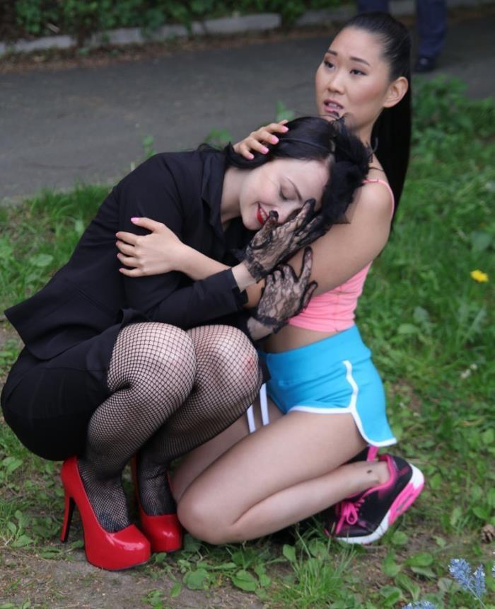 Alessa Savage, Katana - Devious Lesbian Gets Her Asian Babe [SD 480p] - Lesbea/SexyHub