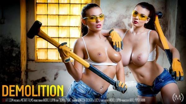 SexArt, MetArt - Lucy Li & Vanessa Decker - Demolition [SD, 360p]