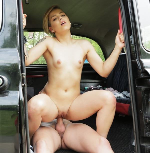 Megan Talerico - Cute Petite Teen Gets Free Ride (FakeTaxi) [HD 720p]