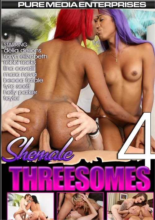 Shemale Threesomes 4 [WEBRip/HD 720p]