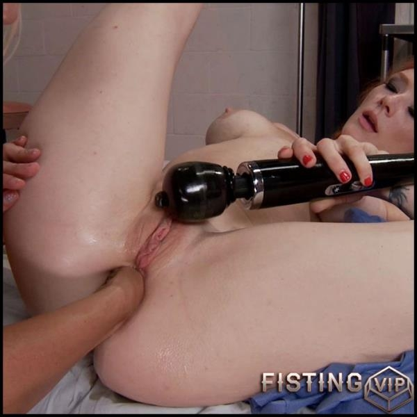Amateur - Taste the Gape! Both girls open up and get a taste of the dark side  [HD 720]