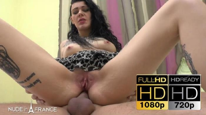 Melissa Milah ~  Greedy small titted and tattooed slut gets her ass nailed before a double sperm loads  ~ NudeInFrance ~   HD 720