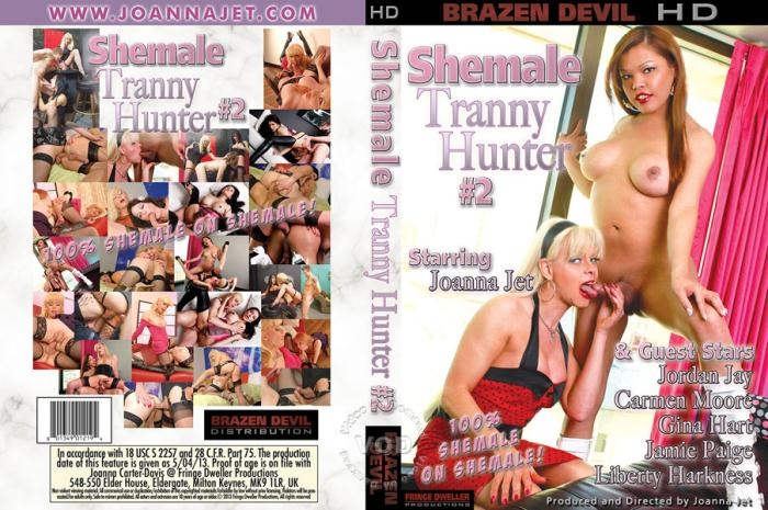 Brazen Devil: Damien Thorne, Carmen Moore, Liberty Harkness, Jordan Jay, Gina Hart, Joanna Jet, Jamie Page - Shemale Tranny Hunter 2 [DVDRip 480p]