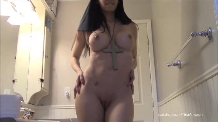 Naughty nun shit smear and swallow - Solo Scat / 14-06-2017 (Scat Porn) [FullHD/1080p/MP4/513 MB] by XnotX