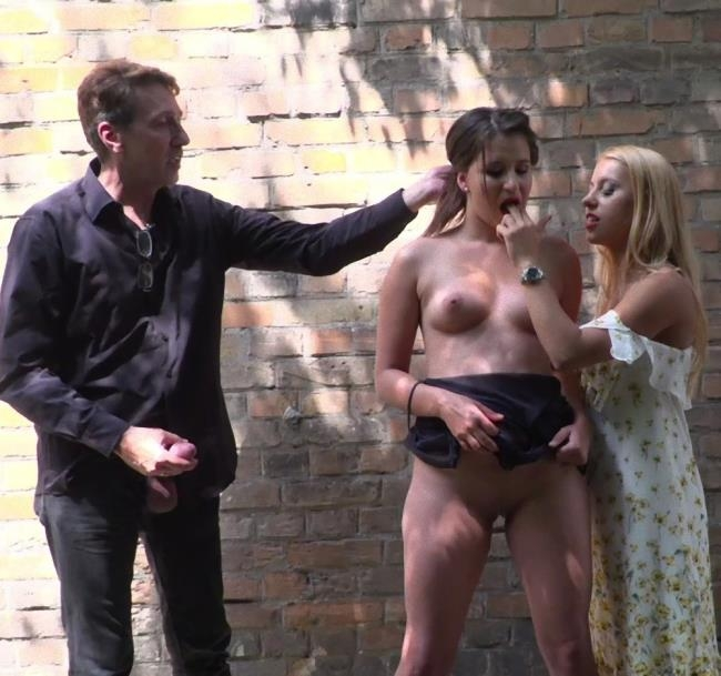 PublicDisgrace/Kink - Amirah Adara, Cindy Loarn, Lucia Love, Nikki Thorne - Fuckfest In Budapest [HD 540p]