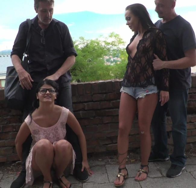PublicDisgrace/Kink - Angelina Wild, Nasty Khalifa - Best Fucking Friends [SD 540p]