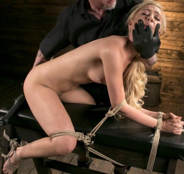 HogTied: Lyra Law  - Sexy Blonde Mistress Submits to Rope Bondage and Suffering (2017) SD  540p