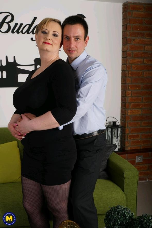 Mature.nl: Silana (41) - chubby mature lady doing her toyboy (FullHD/2017)