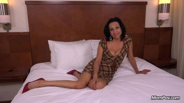 Cathy - Cathy 44 year old webcam MILF takes creampie (Mompov) [HD 720p]