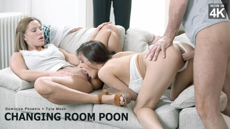 StepMomLessons/Babes: Dominica Phoenix and Tyra Moon aka Athina - Changing Room Poon [SD 480p] (327 MB)