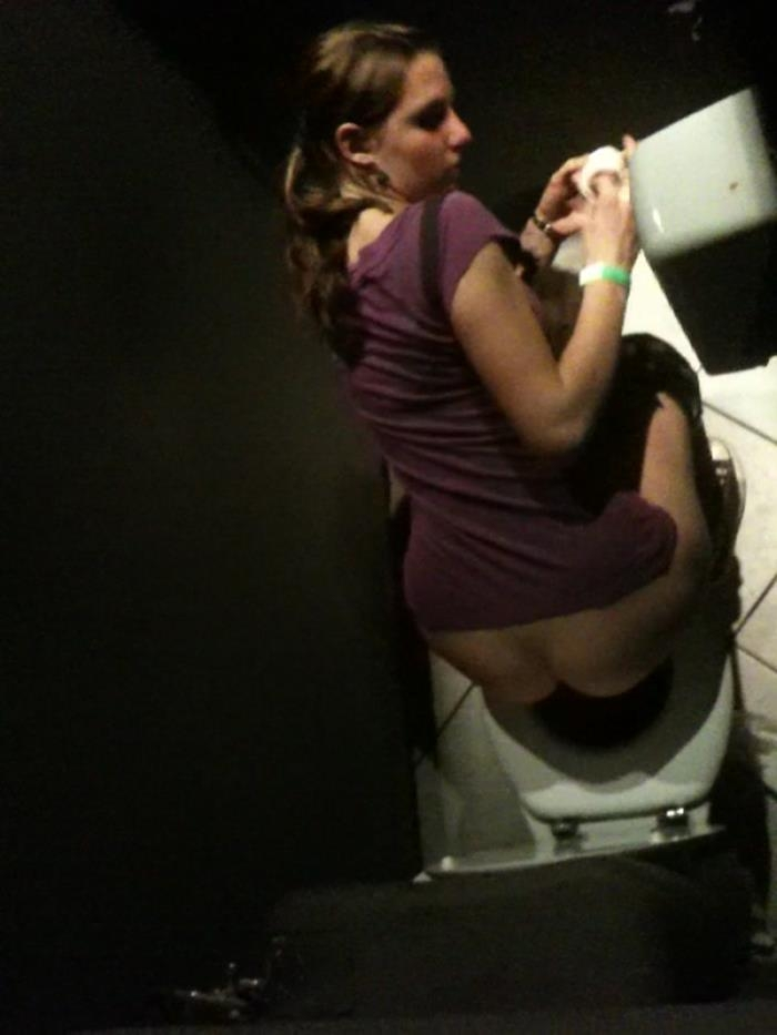 Night club toilet SD 640p