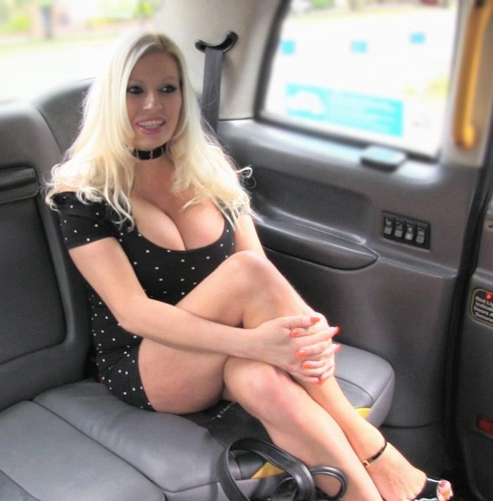 Fake taxi crazy sex for blonde in fishnets anal rimming