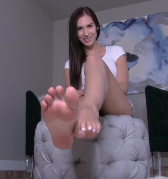 BratPrincessAshley: Princess Ashley - Anal Slut for Poppers and Feet  [FullHD 1080p]  (Femdom)