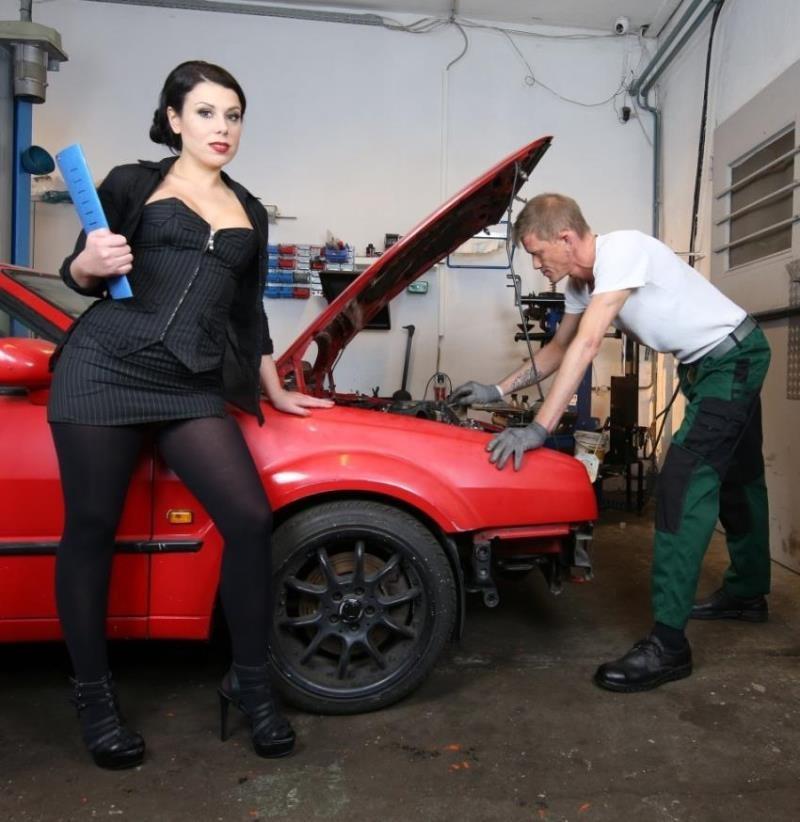 BumsBuero/PornDoePremium: Kami Katzerl - Naughty German babe Kami Katzerl fucks car repairman and boss  [HD 720p] (496 MiB)