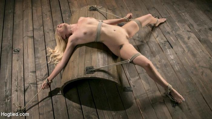 Lyra Law - Sexy Blonde Mistres Submits to Rope Bondage and Suffering [HD 720p] HogTied.com