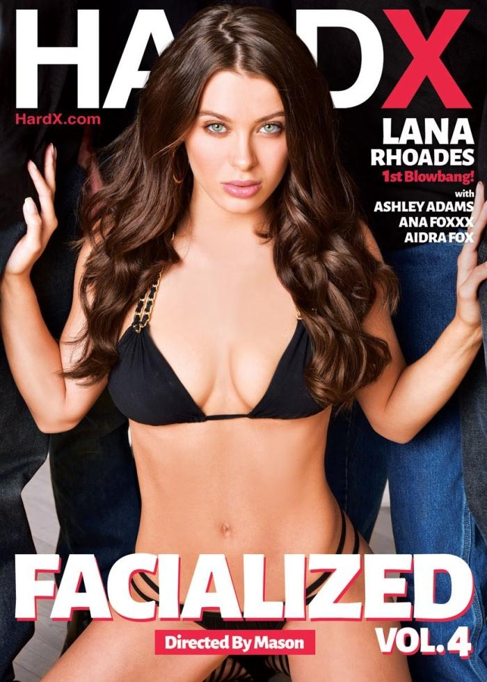 Hard X - Lana Rhoades, Ana Foxxx, Ashley Adams, Aidra Fox [Facialized 4] (WEBRip/SD 544p)