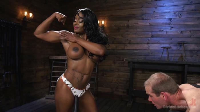 KINK - Kelli Provocateur, Jonah Marx [Ebony Dominatrix Kelli Provocateur Punishes Sub Man and Fucks His Ass!] (HD 720p)