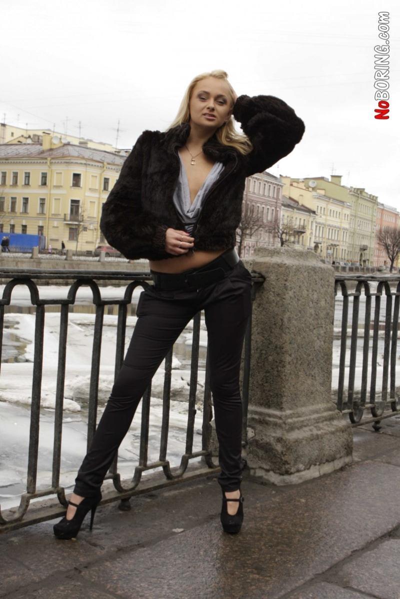 NoBoring - Ivana Sugar - Blonde gets stuffed with cum [SD 540p]