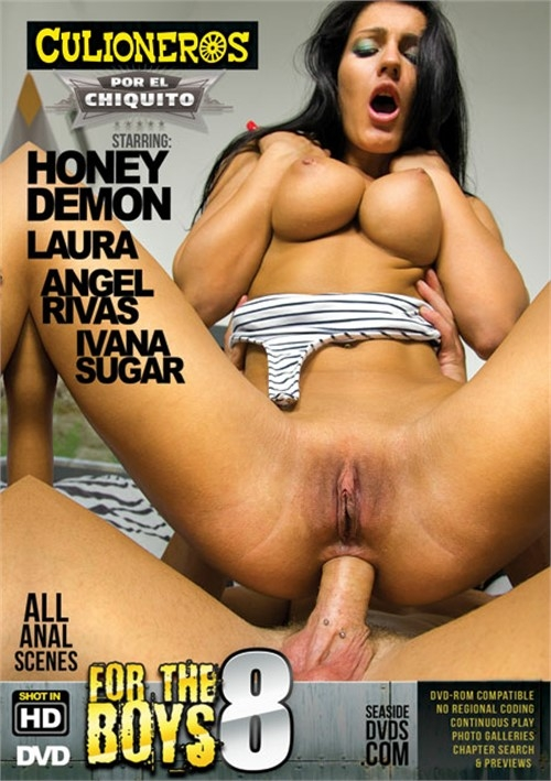 Culioneros - Ivana Sugar, Honey Demon, Angel Rivas, Laura in Por El Chiquito 8 (WEBRip/SD 480p)