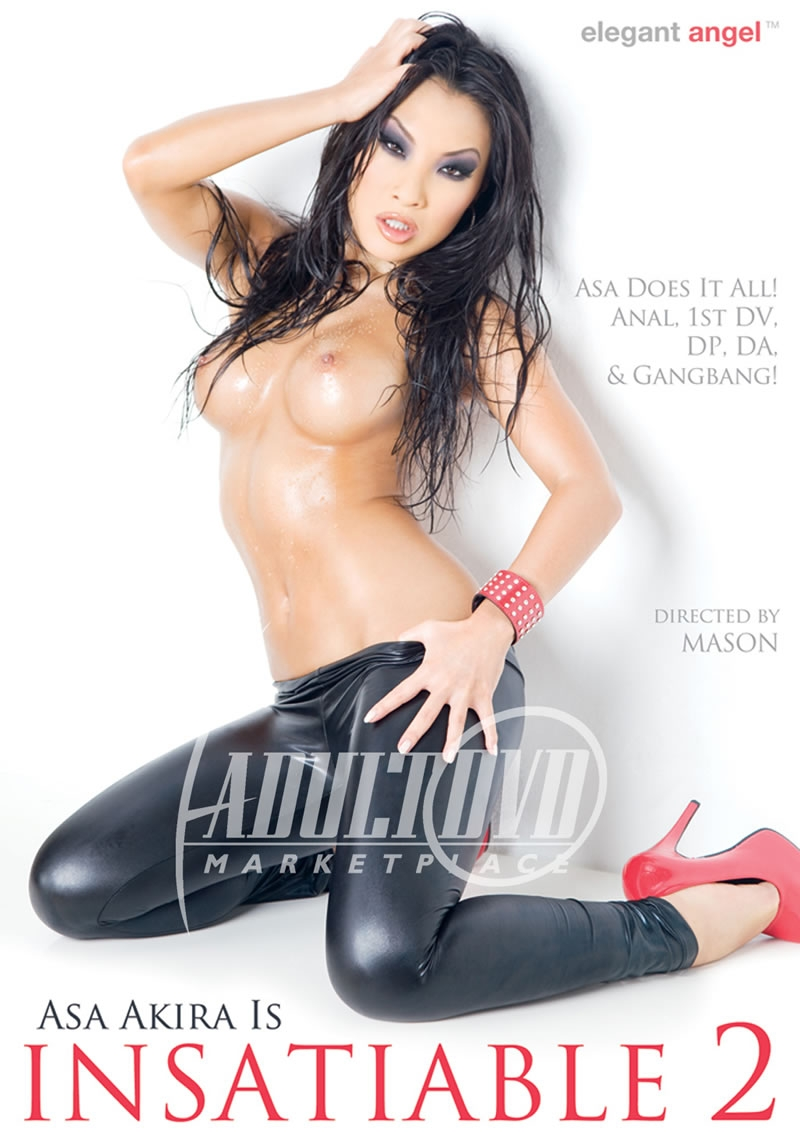 Asa Akira Is Insatiable 2 [DVDRip 352p]
