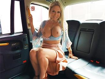 Sasha Steele - John Gets A Good Taxi Arse Rimming [FakeHub, FakeTaxi / SD]