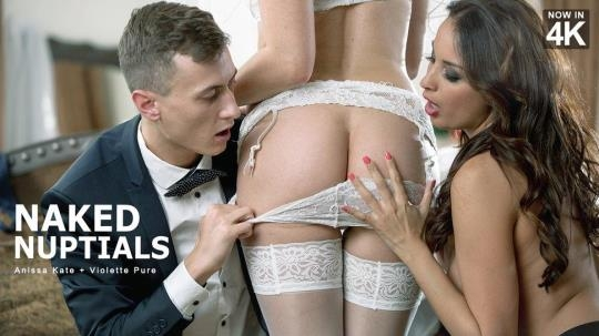 StepMomLessons, Babes: Anissa Kate and Violette Pink aka Violette Pure - Naked Nuptials (SD/480p/396 MB) 06.06.2017
