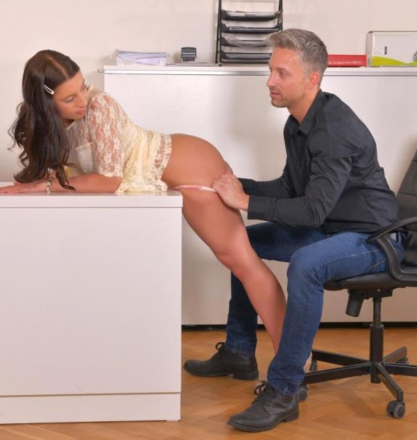 Therese Bizarre - Drilled and Thrilled: Teen Fucks Boss to Impress (EuroTeenErotica) [HD 720p]