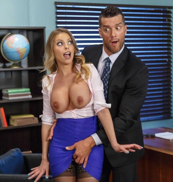 Britney Amber  - Business Too Casual (BigTitsAtWork) [HD 720p]