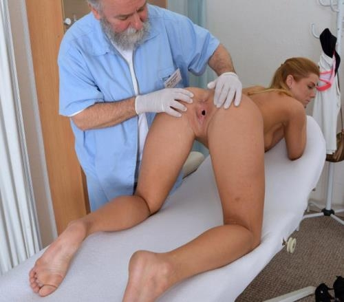 Gyno-X.com [Chrissy Fox - 23 years girl gyno exam] HD, 720p