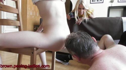 Scat [Tina Blade Natural Girl Shit - Femdom Scat] FullHD, 1080p