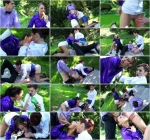 Kate Gold, Terra Sweet - Pissnic In The Park [Tainster, FullyClothedPissing, PissinginAction / HD]