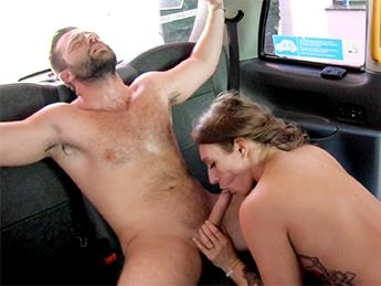 FemaleFakeTaxi.com [Ava Austen - Big Sticky Facial After Hot Cab Sex] SD, 480p