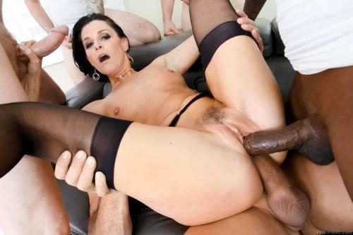 EvilAngel.com [India Summer - MILF Next-Door India\'s DP Gang Bang] SD, 400p