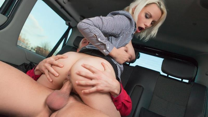 FuckedInTraffic.com / PornDoePremium.com: Lucci - Naughty Czech blondie Lucci gets fucked by cab driver in the backseat [SD] (355 MB)