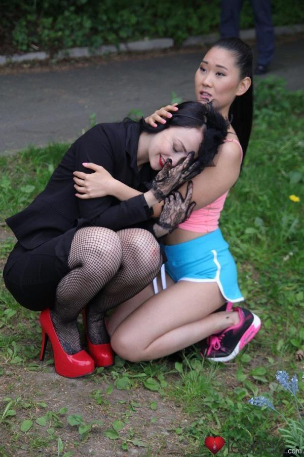 Alessa Savage, Katana - Devious Lesbian Gets Her Asian Babe - Lesbea.com / SexyHub.com (SD, 480p)