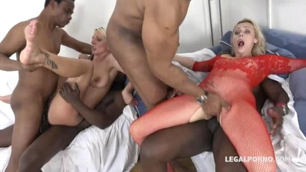 LegalPorno - Oh my god! The goddess Brittany Bardot teaching Lucy Angel how to take the fist & double anal Part 2 IV078 [SD, 480p]