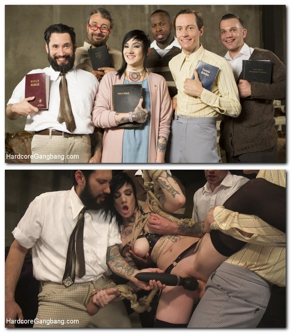 HardcoreGangBang/Kink: Nikki Hearts - Reformed Living: The Mormon Way  [SD 540p] (622 MiB)