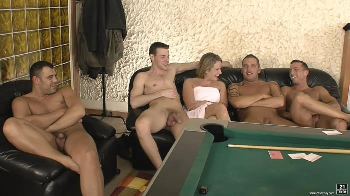 TeenBitchClub.com / 21Sextury.com - Petra A - Playing Pool With Her Holes [SD, 544p]