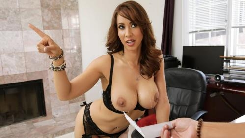BigTitsAtWork.com / Brazzers.com [Isis Love - Cum Get Your Pay Check] SD, 480p