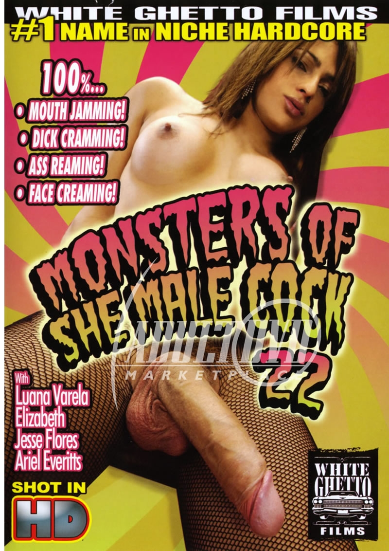 Monsters Of She Male Cock 22 [DVDRip 404p]