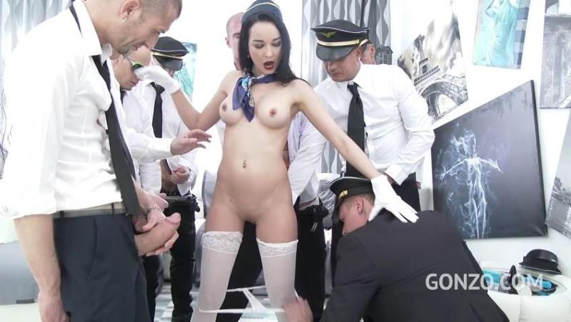 LegalPorno.com: Francys Belle takes a flight with Gabgbang airlines SZ1718 [SD] (782 MB)