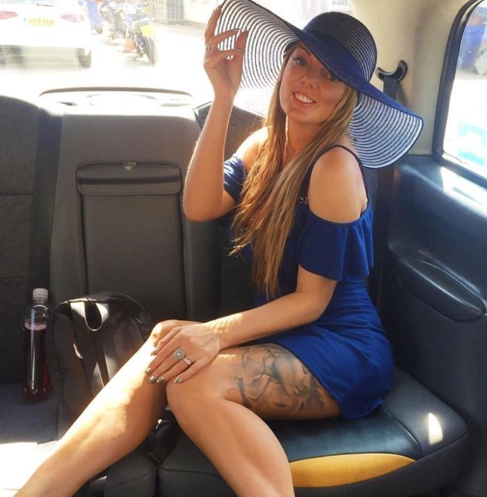 FakeTaxi/FakeHub: Stacey Saran - Long Legs Tattoos and Great Tits  [SD 480p]  (Big tit)