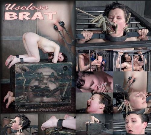 RealTimeBondage.com [Bonnie Day - Useless Brat Part 2] HD, 720p