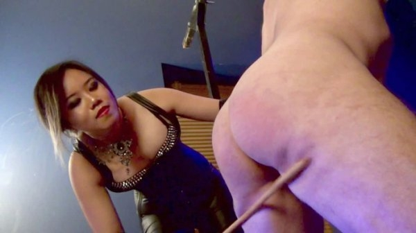 AsianCruelty - Mistress Mara Julianne [A Sadistic Introduction To My Cane] (HD 720)