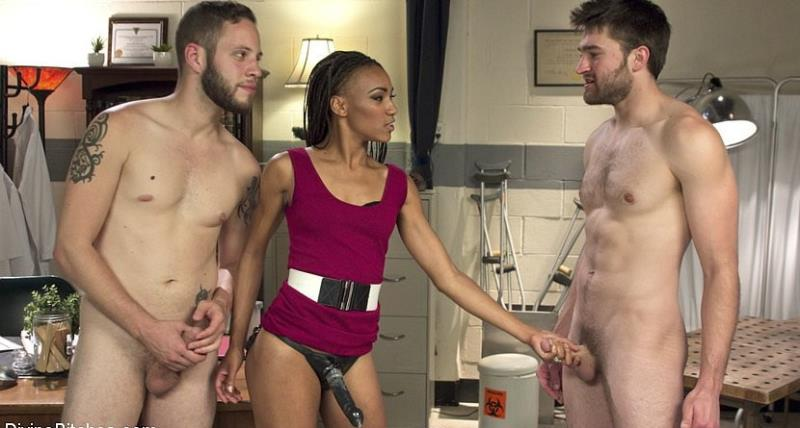 Kink: Cuckolding Therapy - Wolf Hudson, Nikki Darling and Abel Archer [2016] (HD 720p)