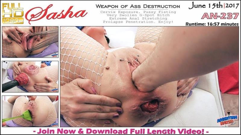 ArgentinaNaked.com: Sasha - Weapon of Ass Destruction AN-237 [FullHD] (1.01 GB)