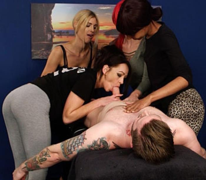 Mandy Slim, Roxi Keogh, Sade Rose, Vickie Powell - 8 Hand Massage  (2017/PureCFNM/FullHD/1080p)