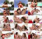 EvilAngel: Cuckold Watches Hotwife's Lesbian Fun - Francesca Le and Angela White (SD/400p/389 MB) 14.07.2017